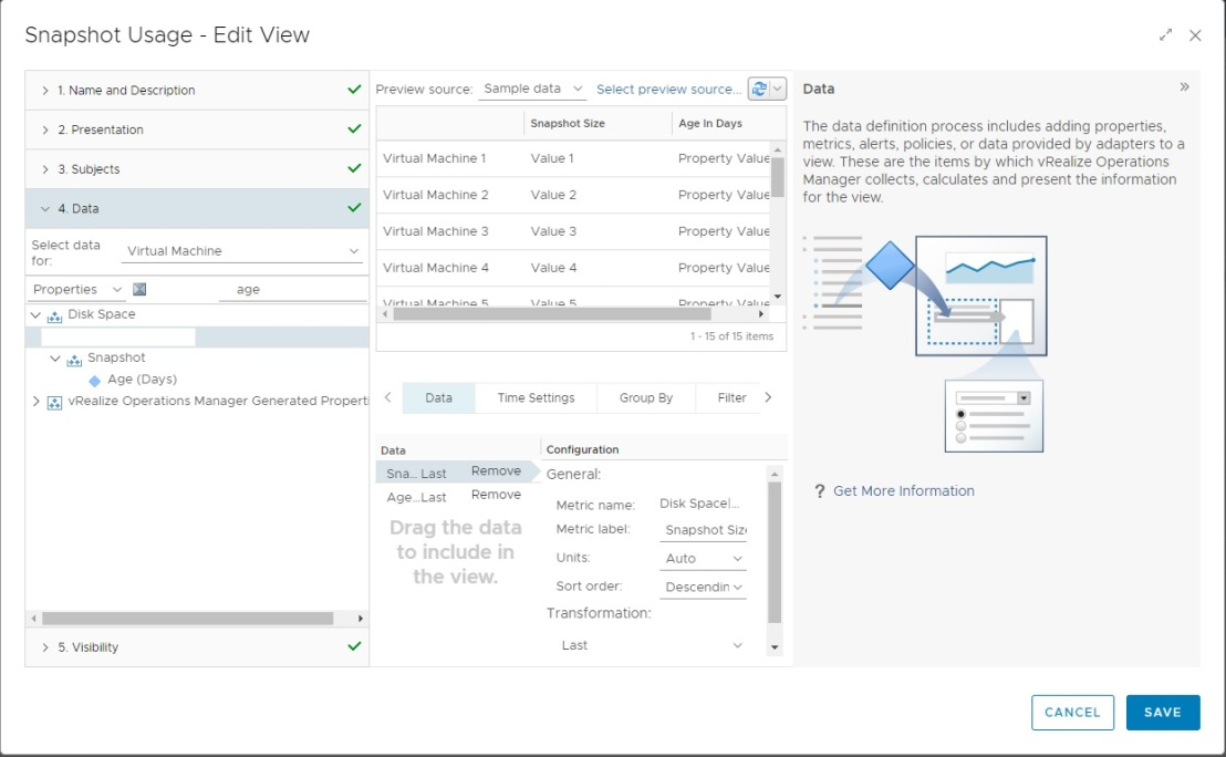 vRealize Operations Manager Custom Views and Reports – Just